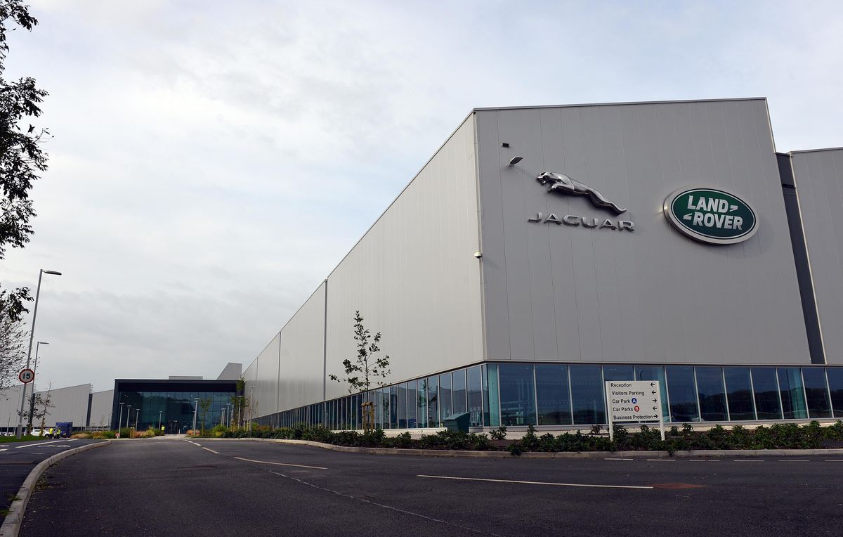 Jaguar Land Rover's engine factory at the i54 in Wolverhampton