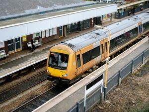 LAST COPYRIGHT SHROPSHIRE STAR JAMIE RICKETTS 18/01/2021 - Train GV - Telford Central Station.