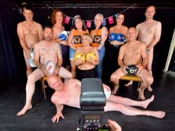 The Full Monty! Friends bare all for Wolverhampton charity calendar - WATCH