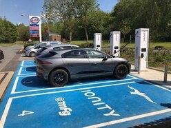 UK's most powerful electric car charging station opens