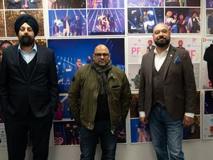 Tony Shergill, CEO of BritAsia TV; Hakam Poselay, CEO of Checklist Films; Shazad Ahmed, Head of PR & Marketing at Checklist Films and Dr. Jack Darby, co-founder and managing director of BritAsia Fund