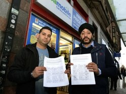 'Don't pave over our roads': Wolverhampton traders backed by 1,000-strong petition