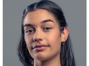 Rebecca Edwards, 17, is featured in the Ask Me campaign.