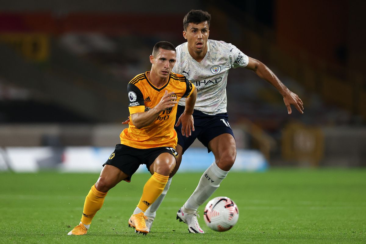 Daniel Podence has impressed so far for Wolves (AMA)