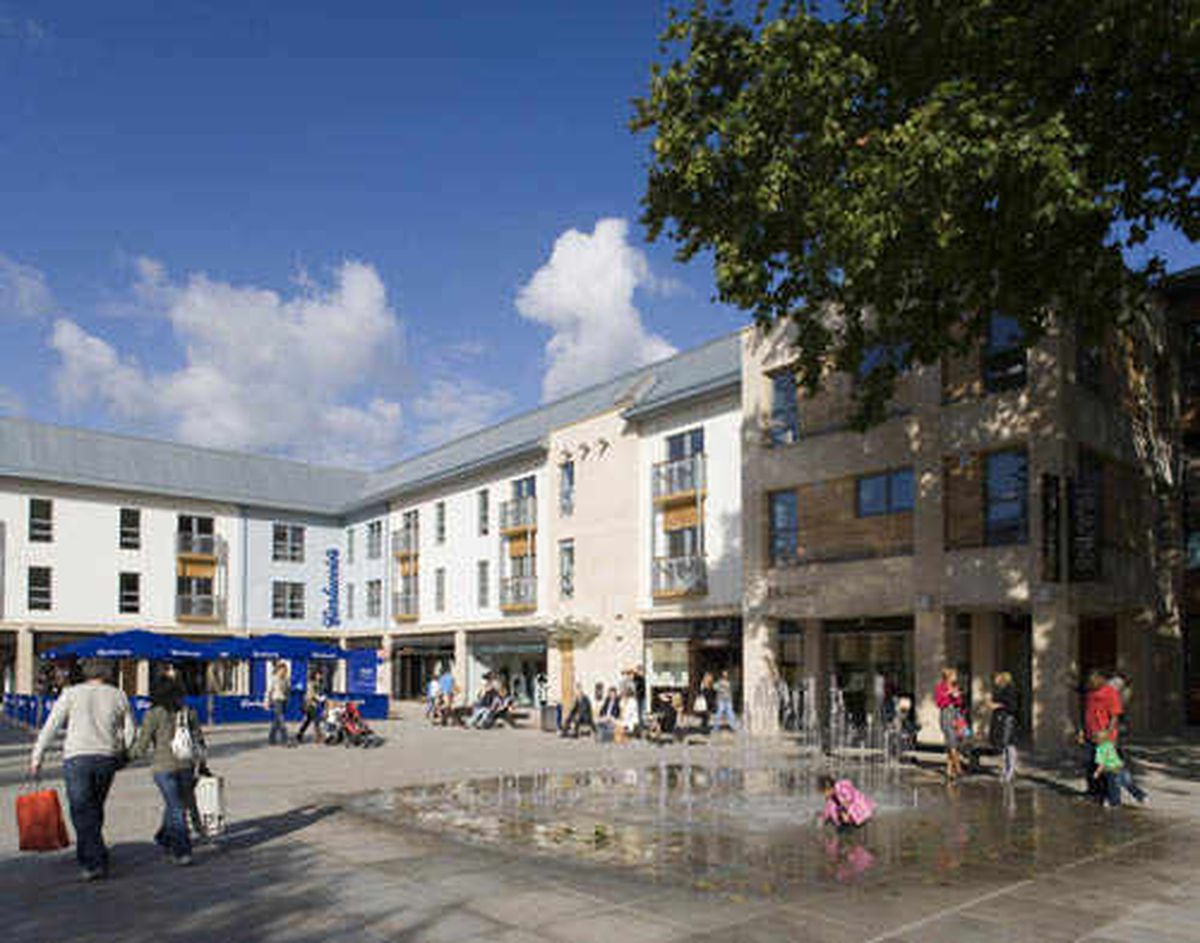 Council bosses want Cannock to look like Bristol's Cabot Circus shopping complex