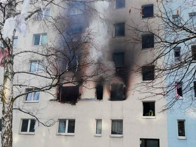 One dead and 11 injured in German apartment block blast