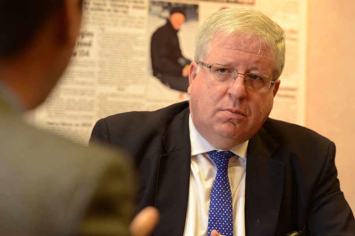 'You bet': WATCH as transport secretary Patrick McLoughlin backs six figure salaries for HS2 chiefs