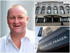 Mike Ashley plans to keep most House of Fraser stores open