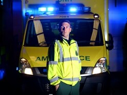 BBC's Ambulance paramedic on saving lives in the danger zone - WATCH