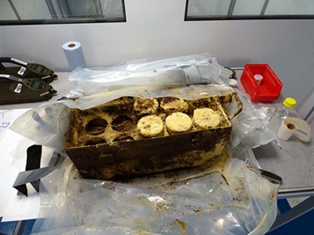 Mustard gas found