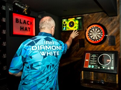 Bullseye for Brum as city's first undergroud darts bar launches - with pictures