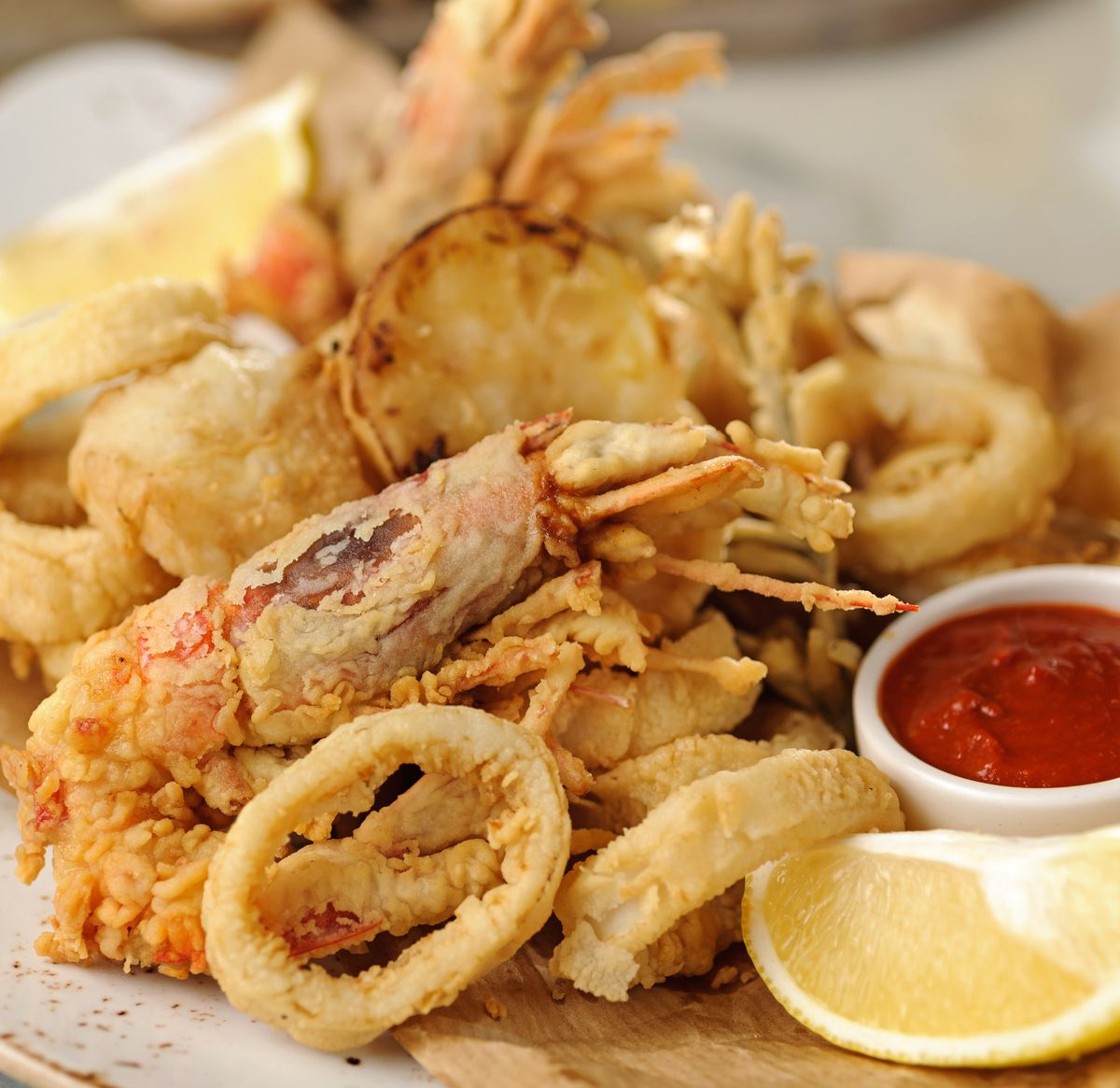 Delish! – The Fritto Portofino including calamari