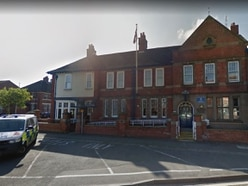 Rugeley Police Station and patrol cars doused with petrol