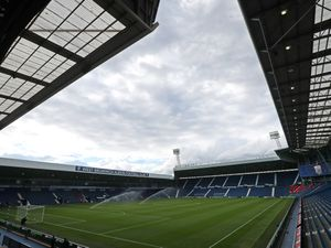 Gv / General View The Hawthorns, the home stadium of West Bromwich Albion from the corner of the Smethwick stand and East stand.