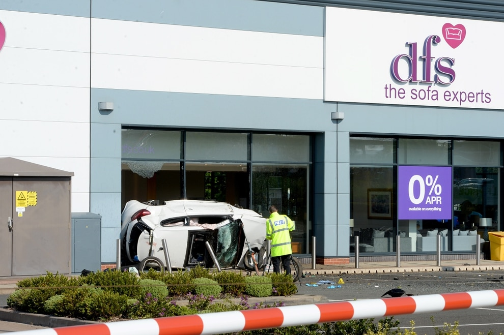Men critically injured in Cannock DFS crash remain in hospital