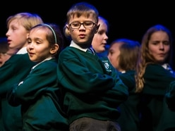 Stafford Schools Gotta Sing: More than 200 young people take part in Gatehouse Theatre show - with pictures and video