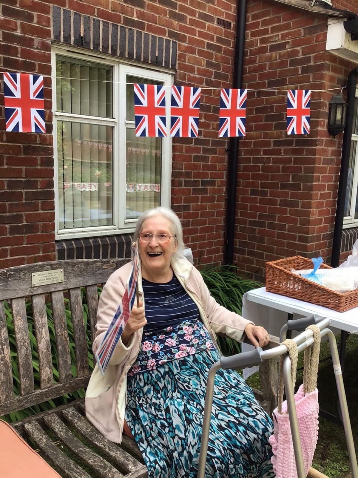 VE Day celebrations at Swan House care home in Willenhall