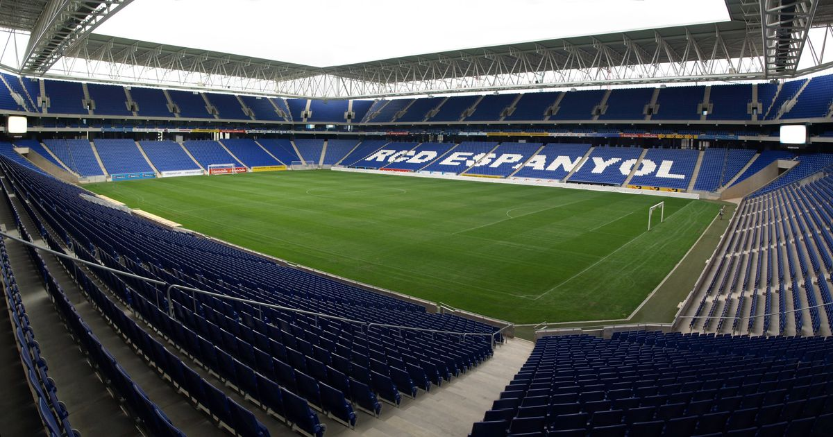 The RCDE Stadium, home of Espanyol, should be 'almost full' for the return leg