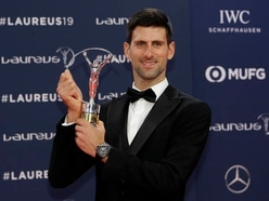 Djokovic thankful for recognition of recovery slog with Laureus gong