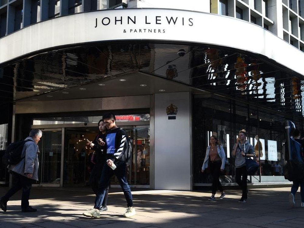 John Lewis boss sacked after poor Christmas