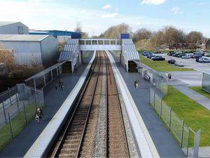 Proposed design for Darlaston Station. Photo: WMCA