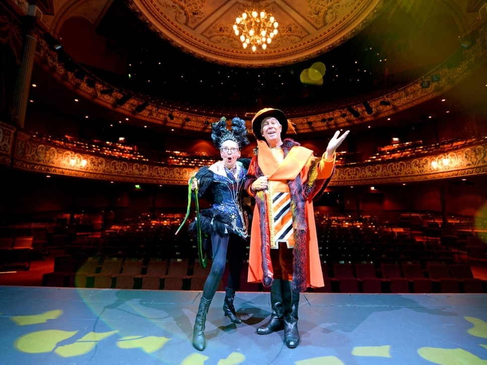 Panto set to be rat-tastic: Su Pollard and Jeffrey Holland talk ahead of Dick Whittington at Wolverhampton Grand