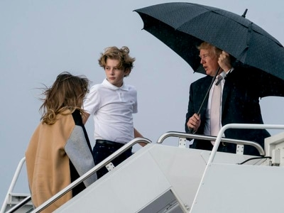White House celebrates birthday as Barron Trump turns 12