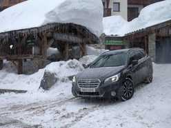 Taking on the mountain in the Subaru Outback