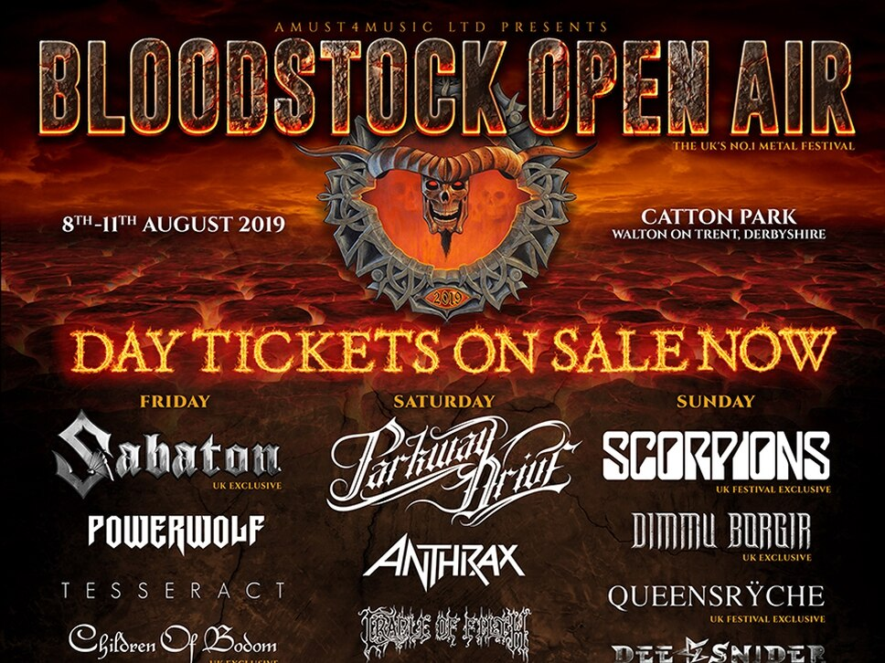 Bloodstock Festival 2019: Final bands announced for Catton Park event