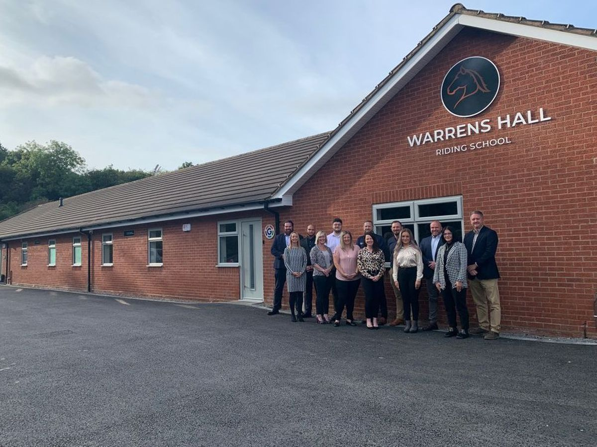New home at Warrens Hall