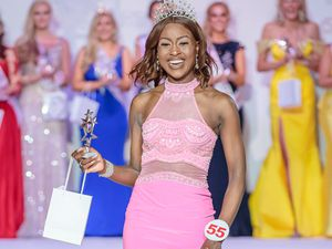 Raven Dixon Biggs, from Tipton, is in the finals of Miss England. Photo: Simon Giddings