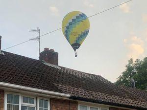 The balloon. Photo: Katie Green