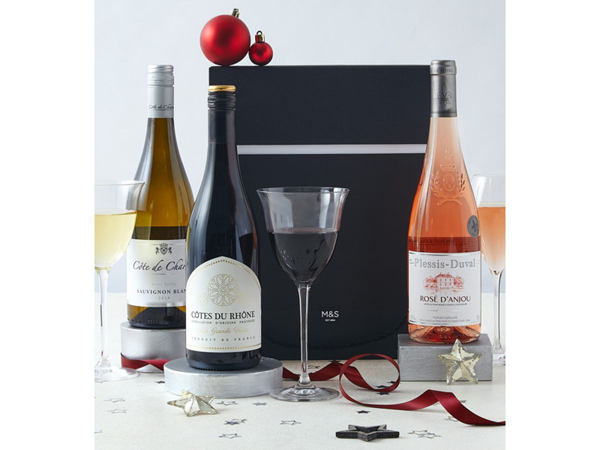 M&S The Connoisseur's Choice Wine Trio Gift Selection