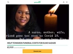 Thousands raised for funeral of Cannock nurse who died after showing Covid-19 symptoms