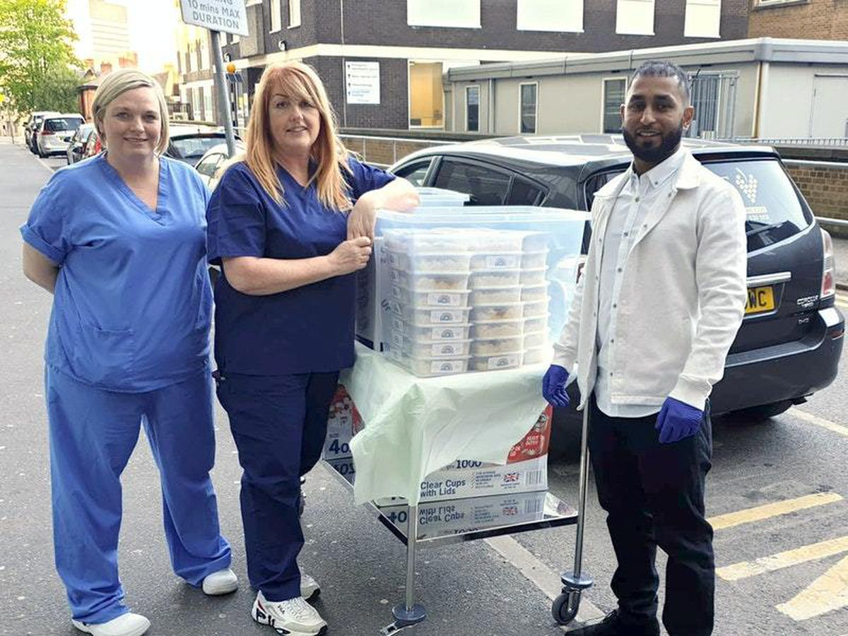 Coronavirus curry deliveries