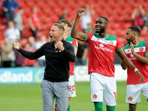 Saddlers boss Matt Taylor has been buoyed by his side's home form
