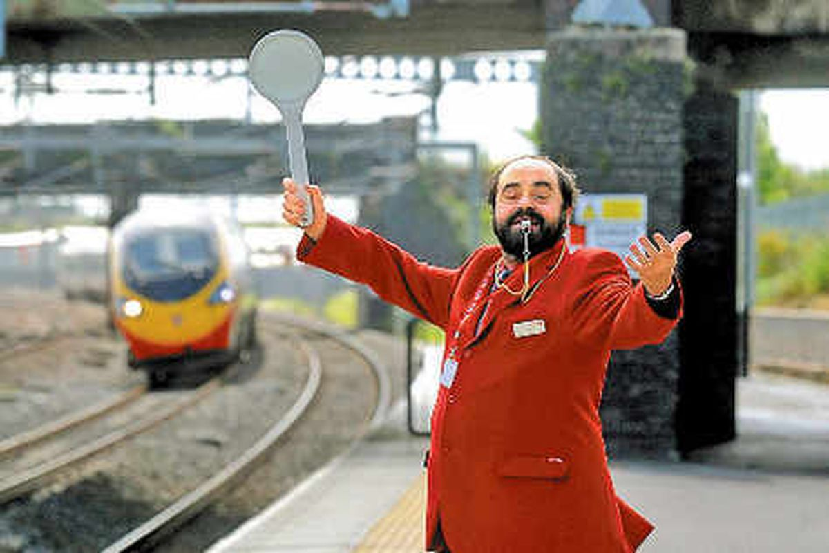 'Pavarotti' station worker always on song