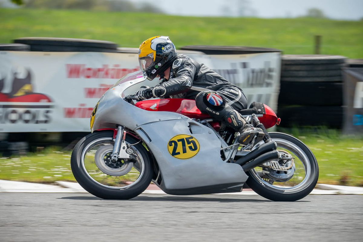 After Lloyd decided to brave the conditions, he came with two podiums. Picture: Tony Else