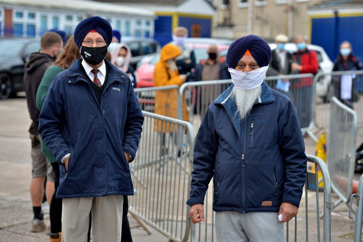 Malkit Singh Clare, 78, and Jit Singh Vopari, 73