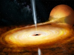 Astronomers reveal violent flaring at centre of black hole