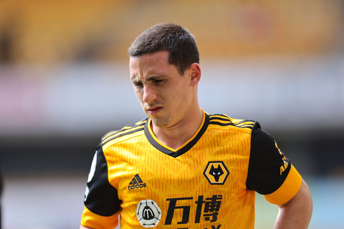 Daniel Podence of Wolverhampton Wanderers. (AMA)