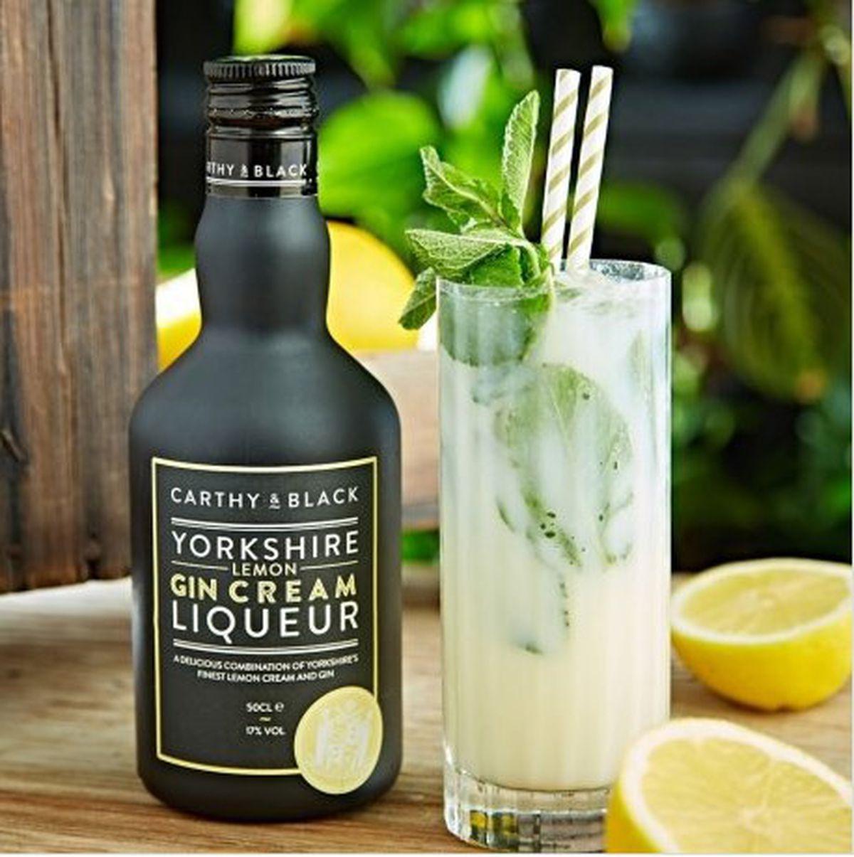 Carthy and Black Yorkshire Lemon Gin Cream Liqueur