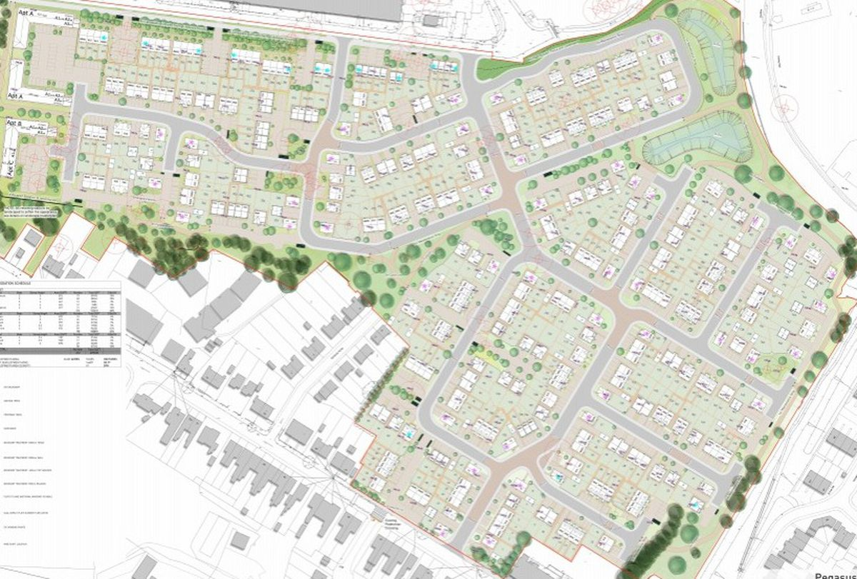 This is what the new scheme looks like. Image: Dudley Council