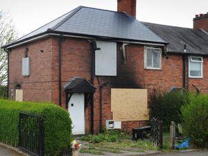 The blaze tore through the house on Beacon Lane