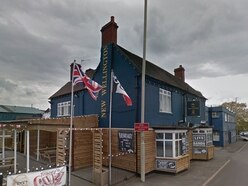 Bar staff 'frightened and upset' after robbery outside pub