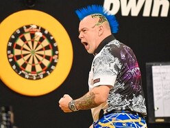 Peter Wright slithers into Slam