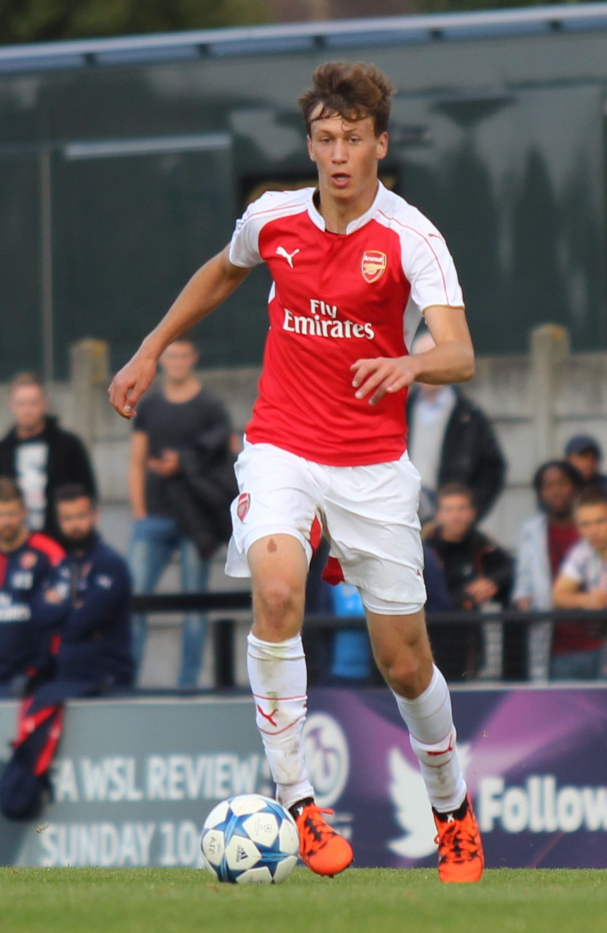 Krystian Bielik is yet to show Walsall fans what he's capable of. (Photo: Joshjdss)