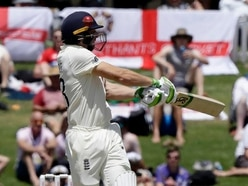 England collapse on day two against New Zealand