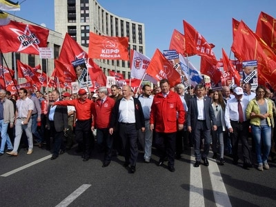 Thousands rally across Russia against pension age rise