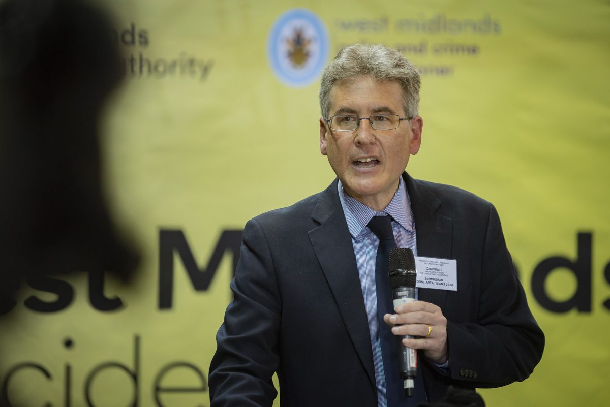 Police and Crime Commissioner for the West Midlands Simon Foster